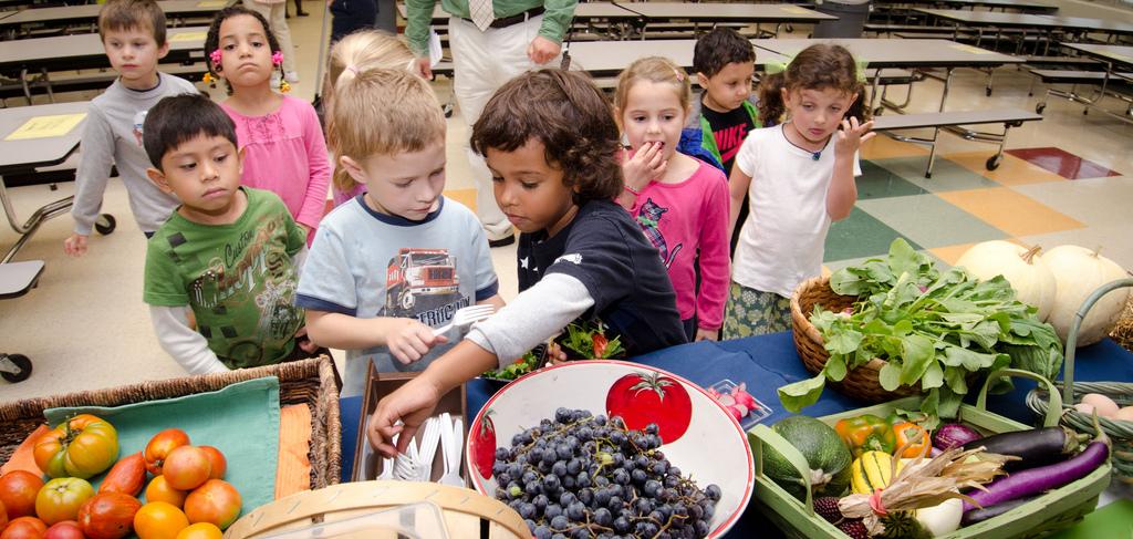 De la nourriture de qualité dans les cantines scolaires
